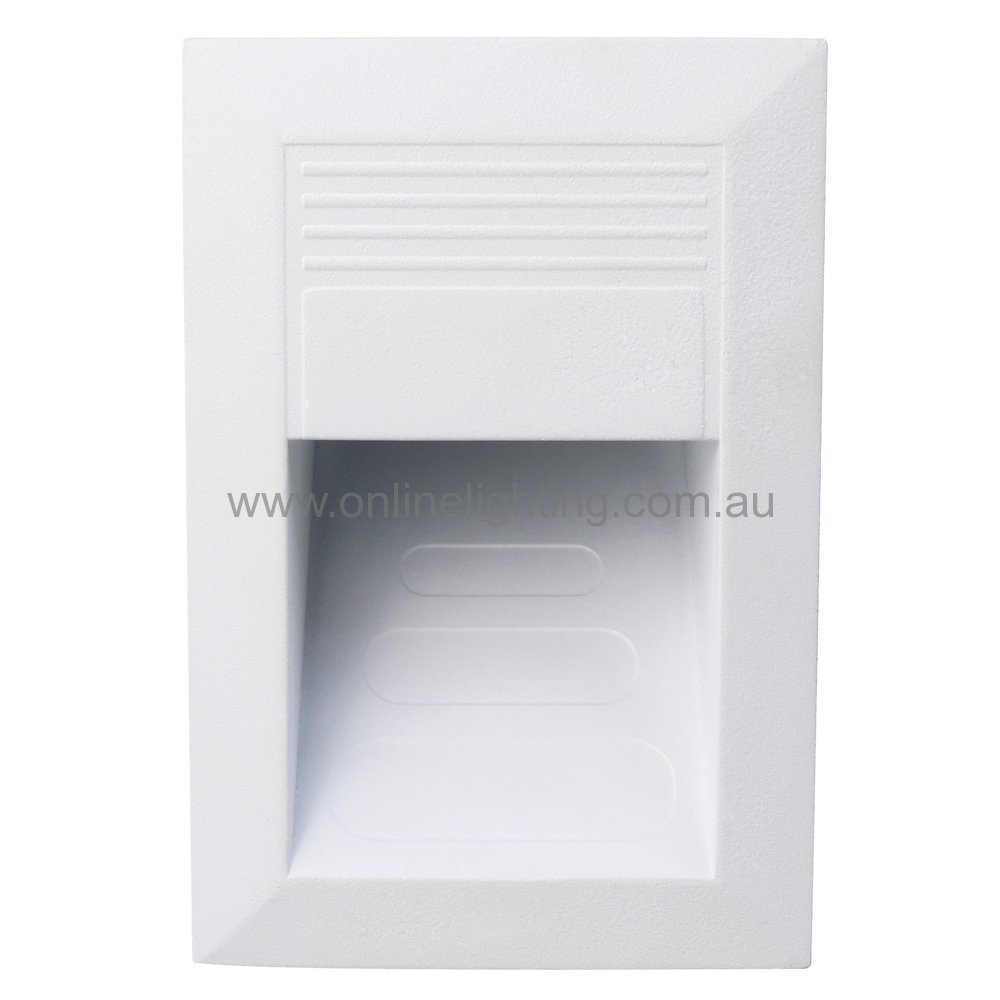 Weipa - LED Recessed Rectangular Wall Light