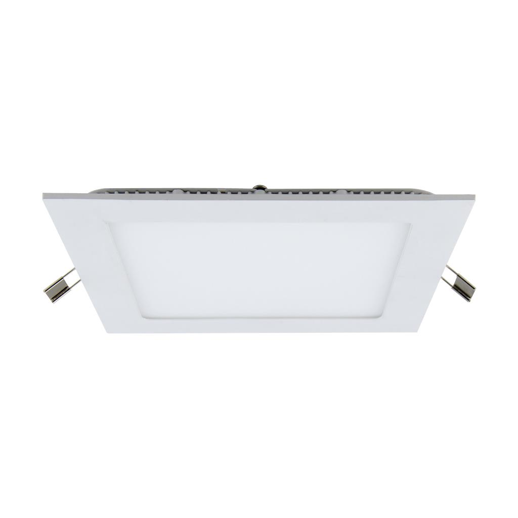 Panel 9 Watt Square Led Panel Light Silver Daylight 19302