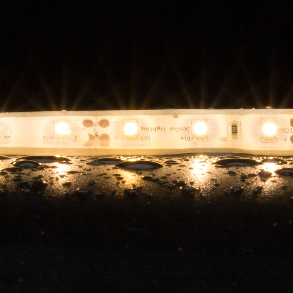 Blaze 12v Wet Location Led Strip: Strip Weatherproof 4.8 Watt 12V LED 1 Metre Flexible Strip