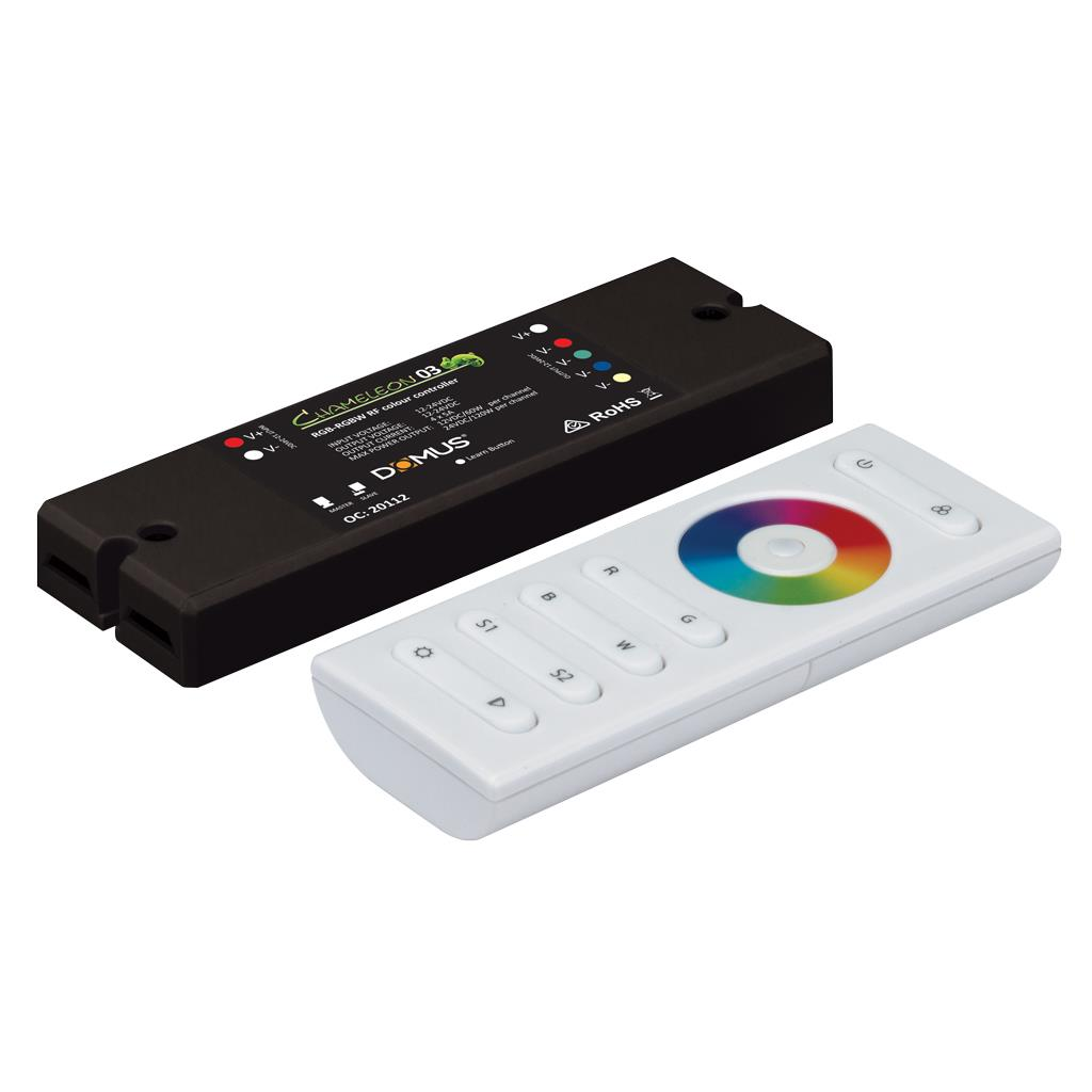 Chameleon-03 4 Channel RF RGBW LED Strip Controller - 20112