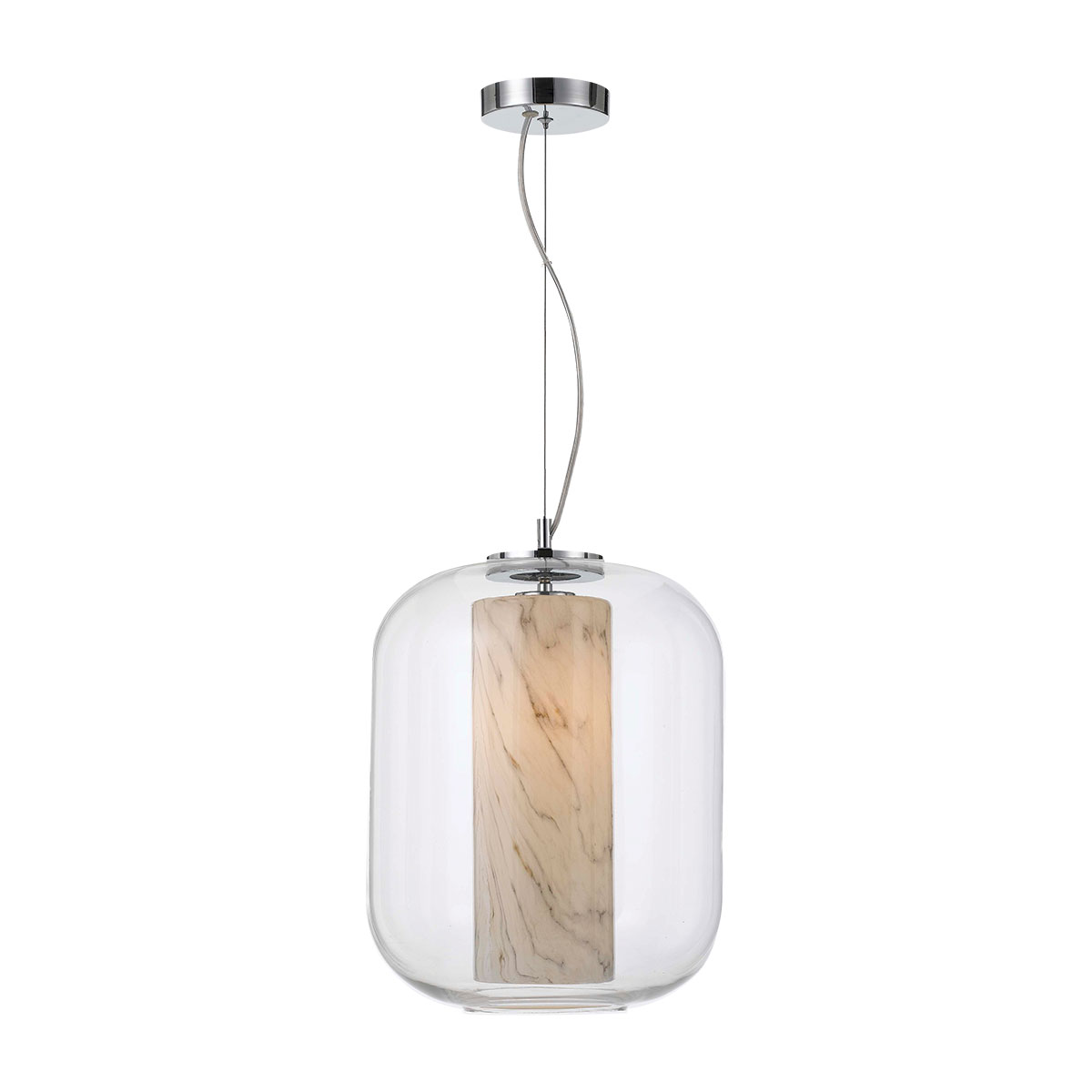 Dramas 1 Light Large Pendant