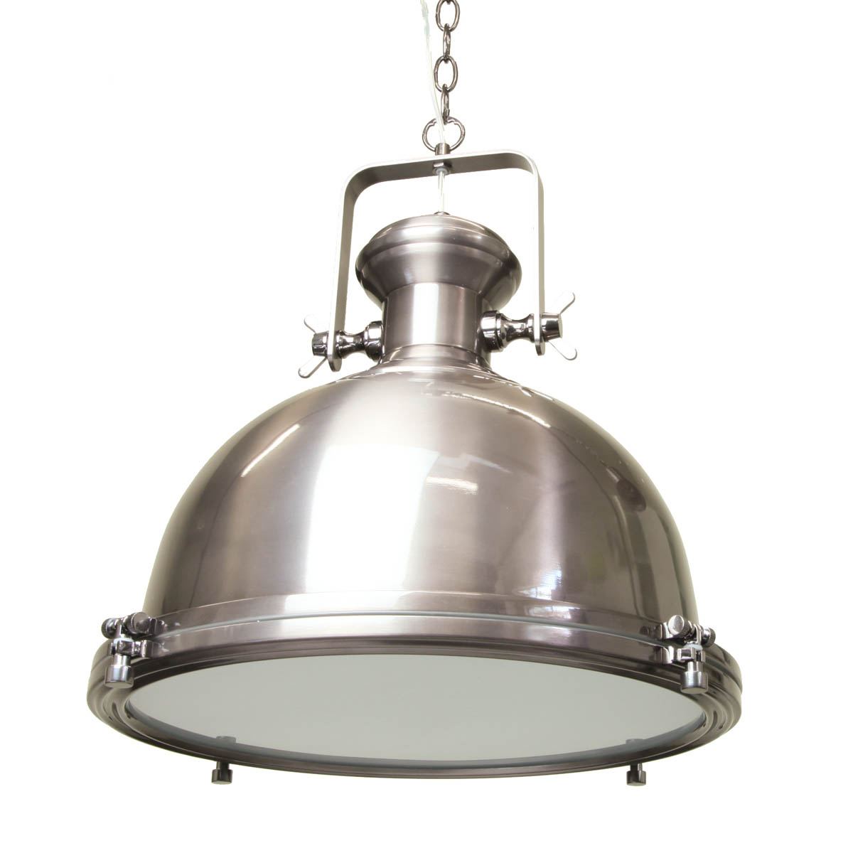 Old Rustic Grey Black Colored Silver Pendant Lighting