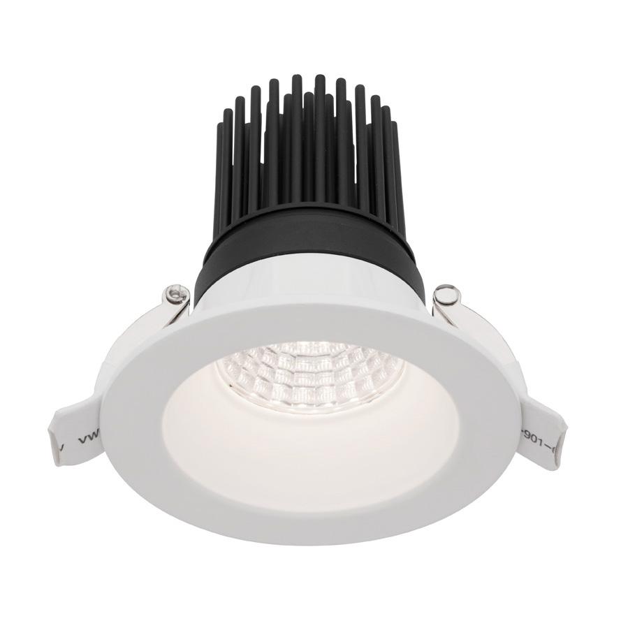elias 12 watt led downlight warm white md590w 3. Black Bedroom Furniture Sets. Home Design Ideas