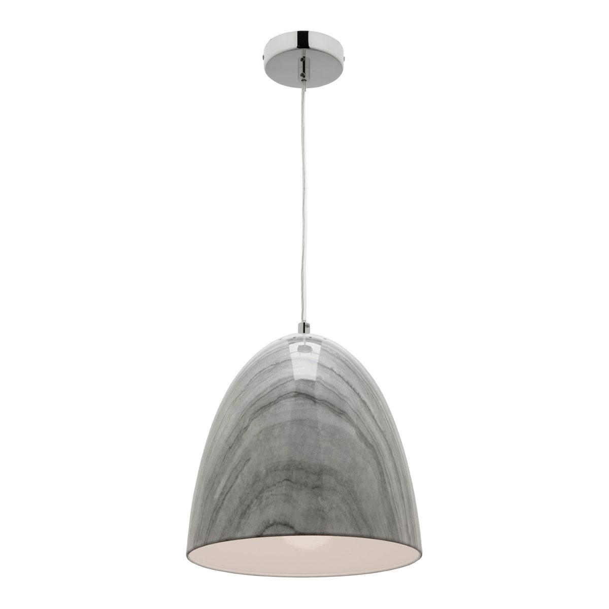 Rampi 1 Light Grey Marble Pendant