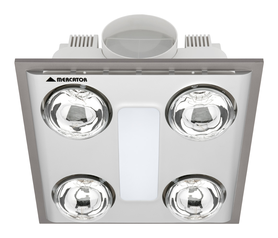 Cosmo quattro led bathroom 3 in 1 exhaust online lighting aloadofball Choice Image