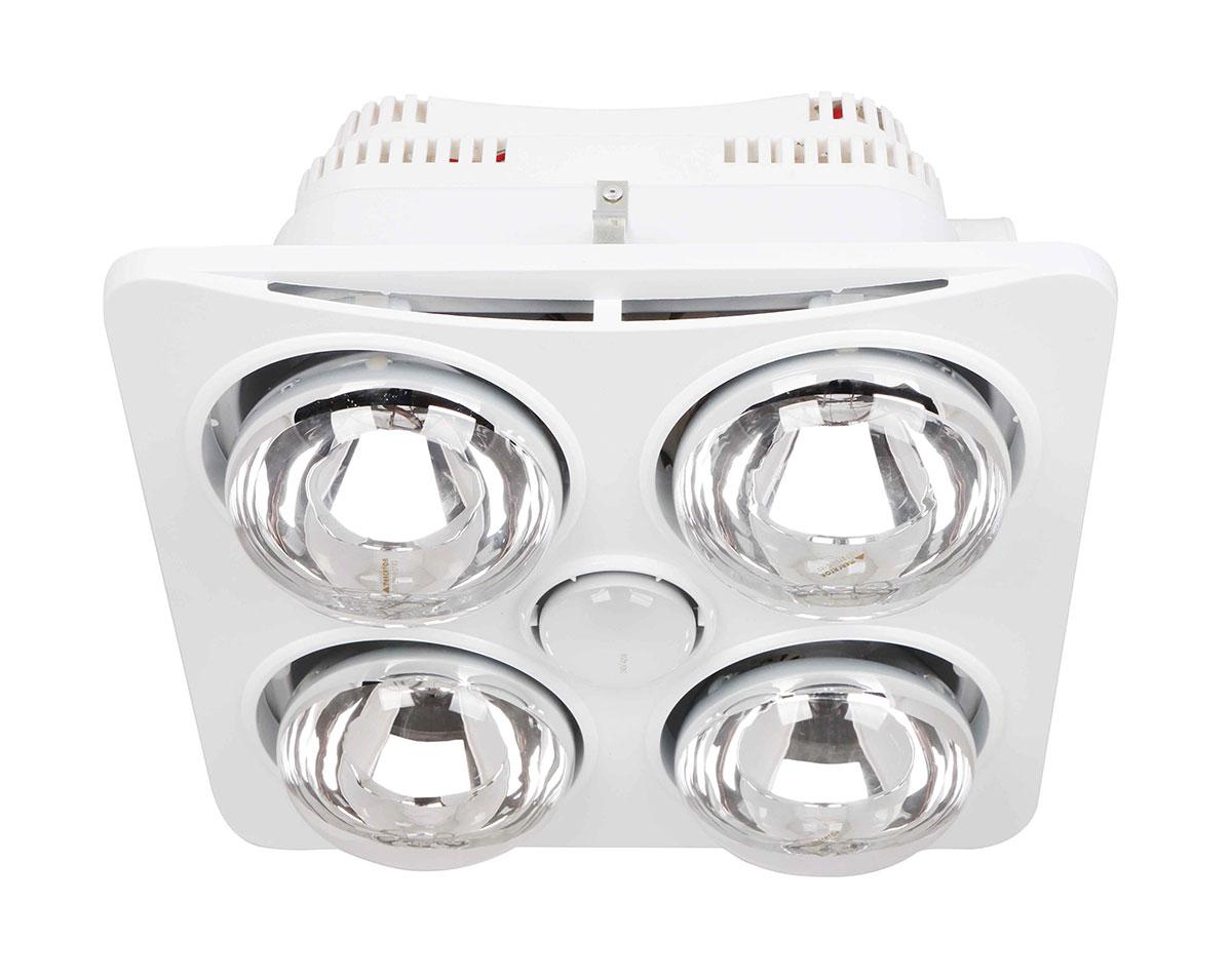 Ardene Quattro Bathroom Heater/Light/Exhaust Fan 3-in-1