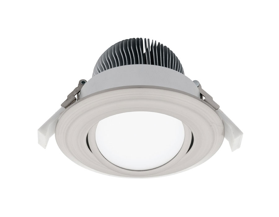 equinox 2 16w gimble led downlight md4516gs 3 online lighting. Black Bedroom Furniture Sets. Home Design Ideas
