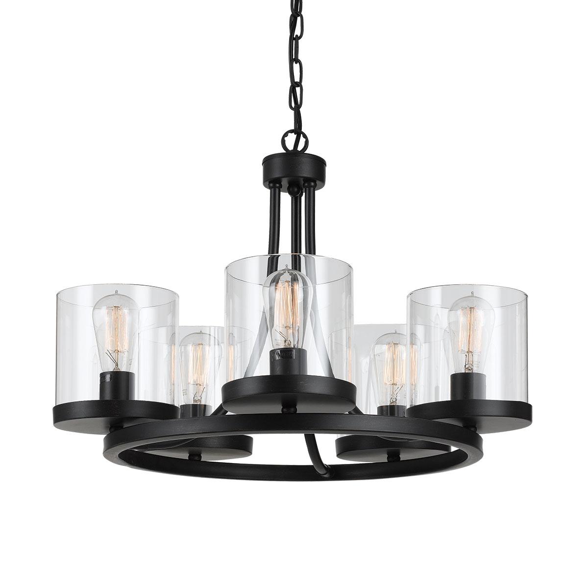 Largo 5 light small chandelier online lighting largo 5 light small chandelier aloadofball Image collections