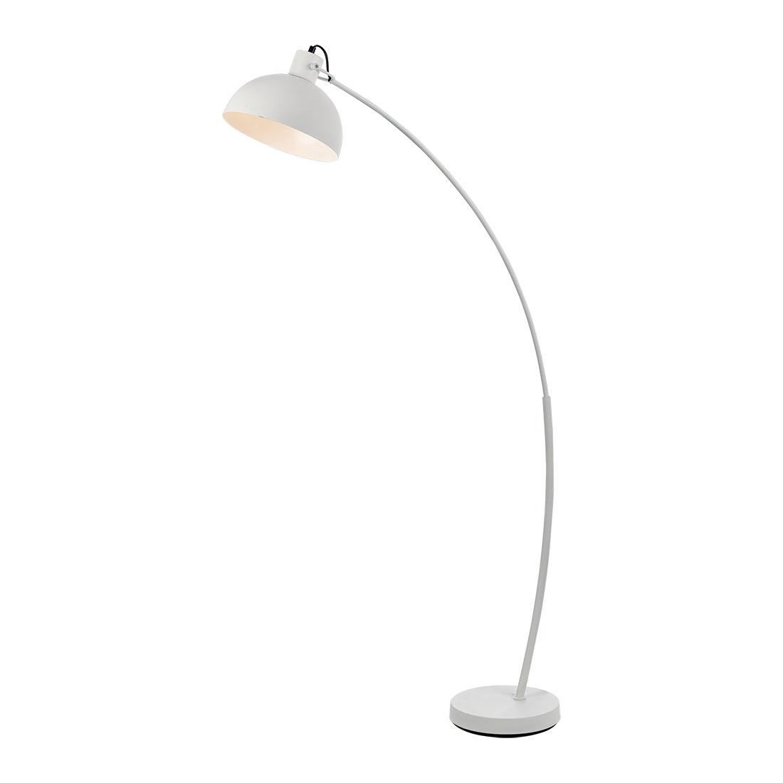 Beat white floor lamp