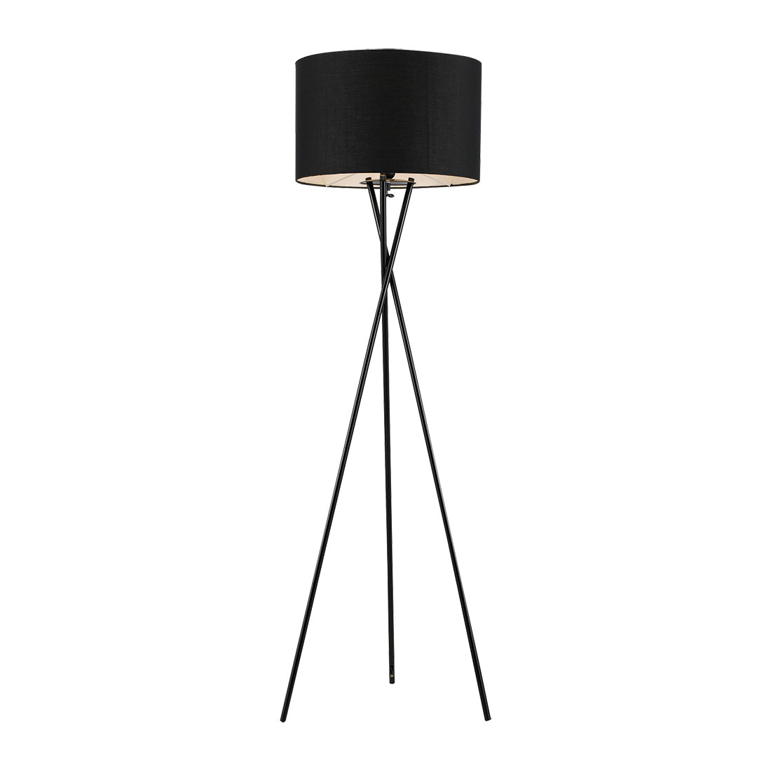 Denise Black Floor Lamp