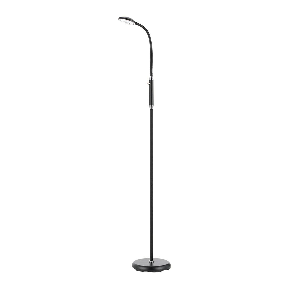 Tyler black led floor lamp aloadofball Gallery