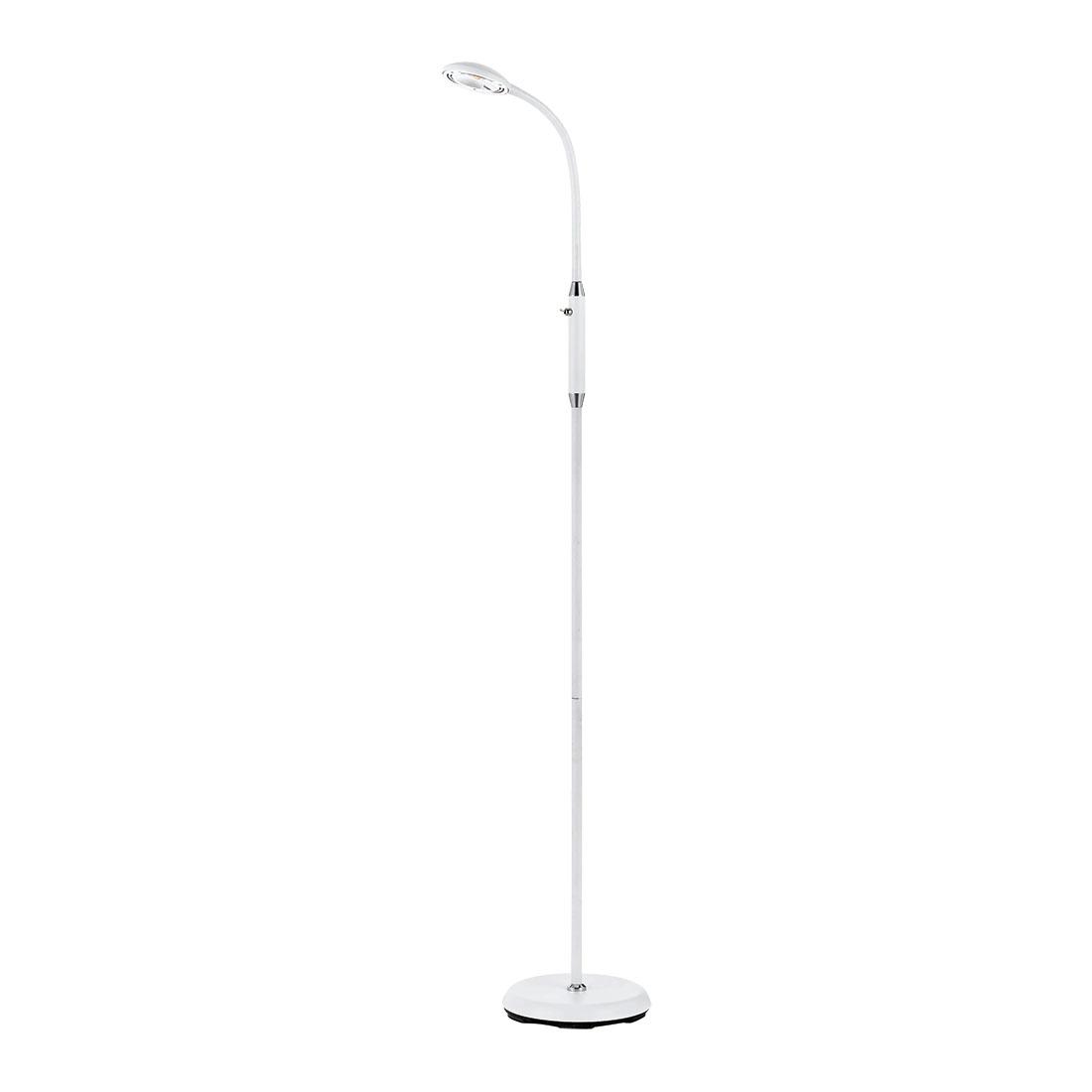 Tyler 6 Watt Led Floor Lamp White Warm White Tyler Fl Wh
