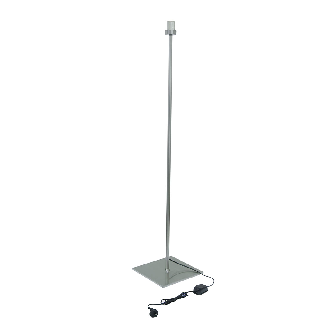 Mod 1 Light Floor Lamp Base Nickel Mod Fl Nk