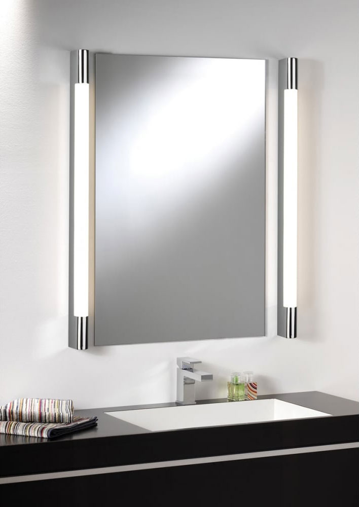 Oras 24 Watt Led Vanity Light Chrome Warm White Oras