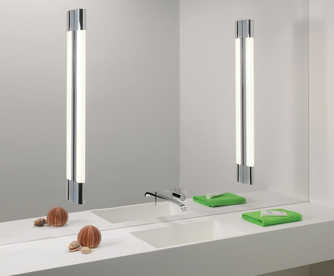 Oras led vanity light 12w warm white usually leaves our warehouse in 3 4 business days mozeypictures Images