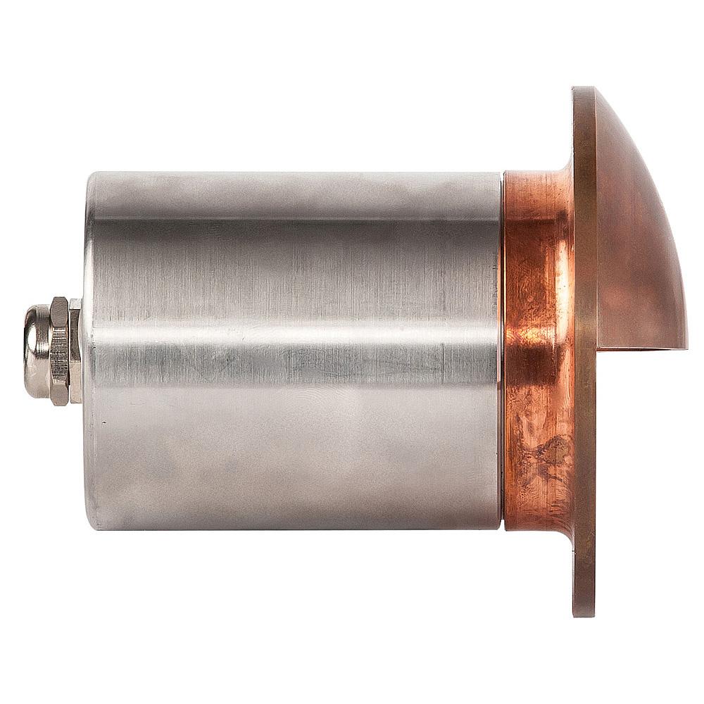 Ollo 12v Led Recessed Eyelid Step Light Solid Copper