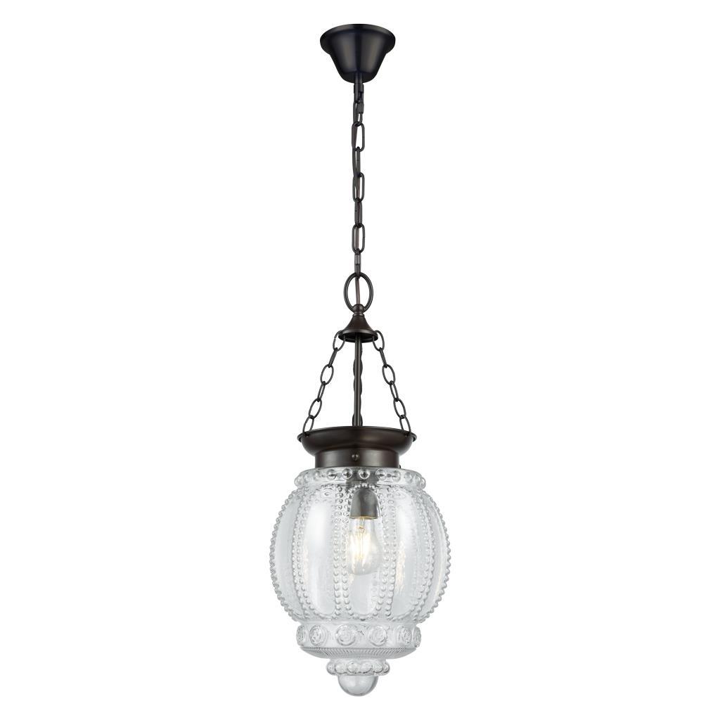Image of: Chelsea 1 Light Lantern Pendant Clear 31340