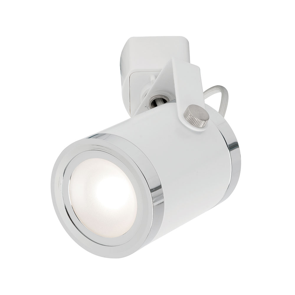 Oxford 9W LED Track Light Head White Finish / Cool White