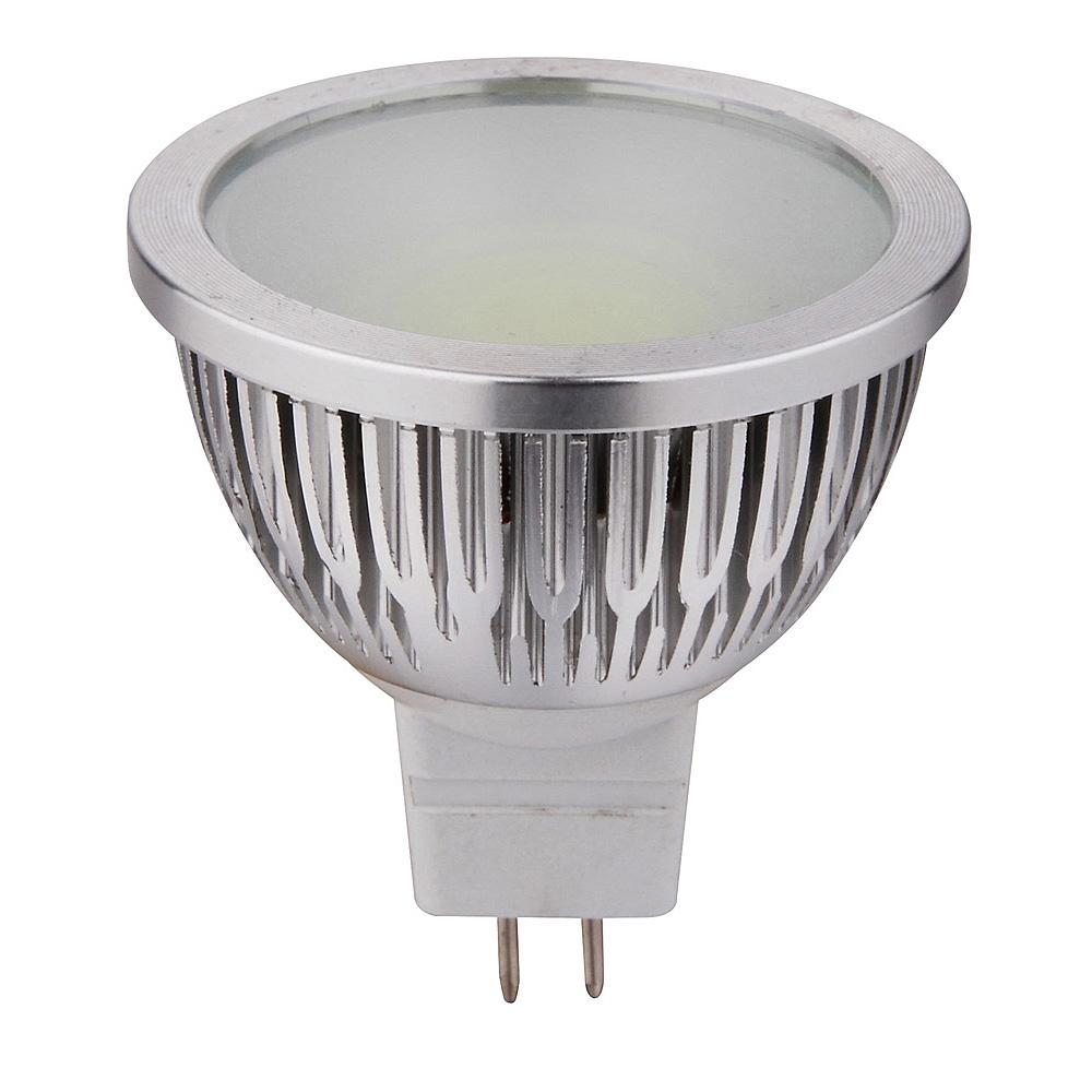 COB High Output 5 Watt 12V MR16 LED Globe / Warm White
