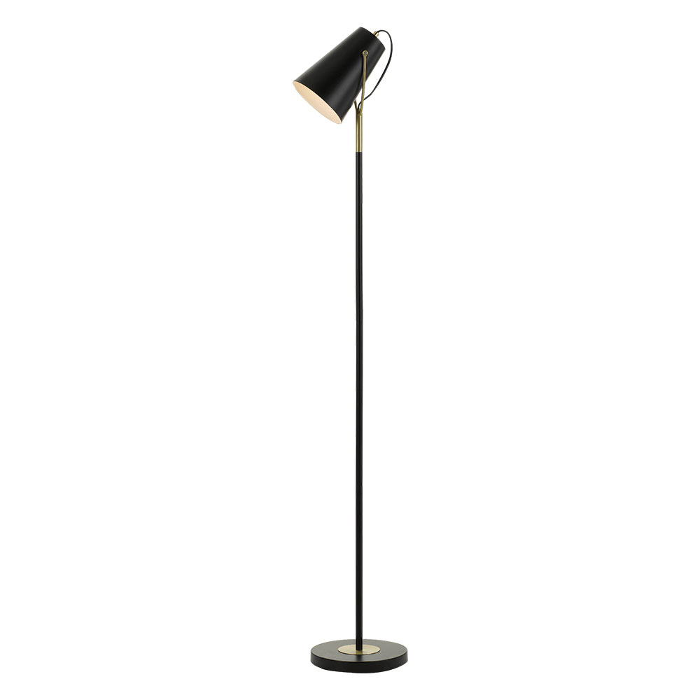 Cheviot floor lamp black mozeypictures Choice Image