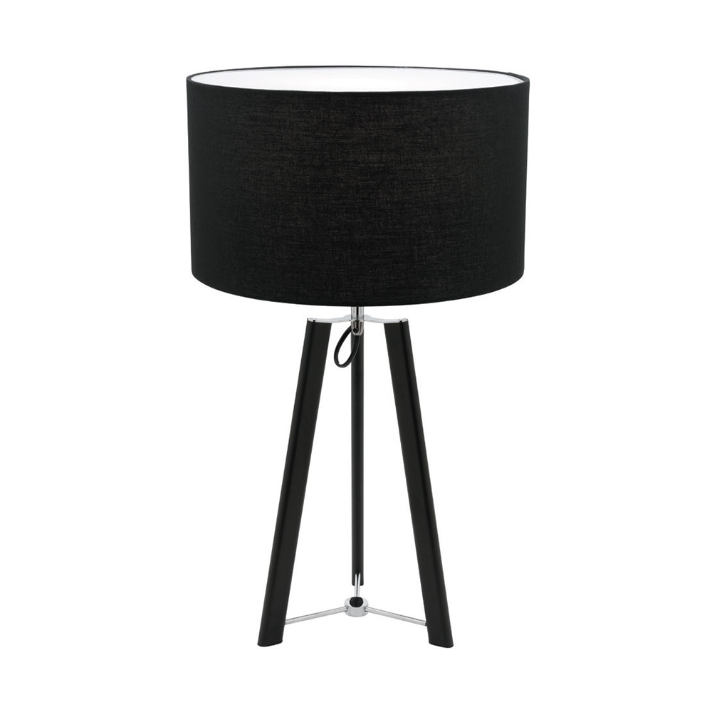 Marcus table lamp black chrome online lighting marcus table lamp black geotapseo Image collections