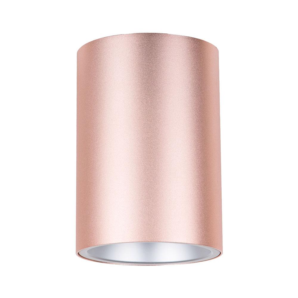 surface mounted 240v gu10 downlight powder pink surface19. Black Bedroom Furniture Sets. Home Design Ideas
