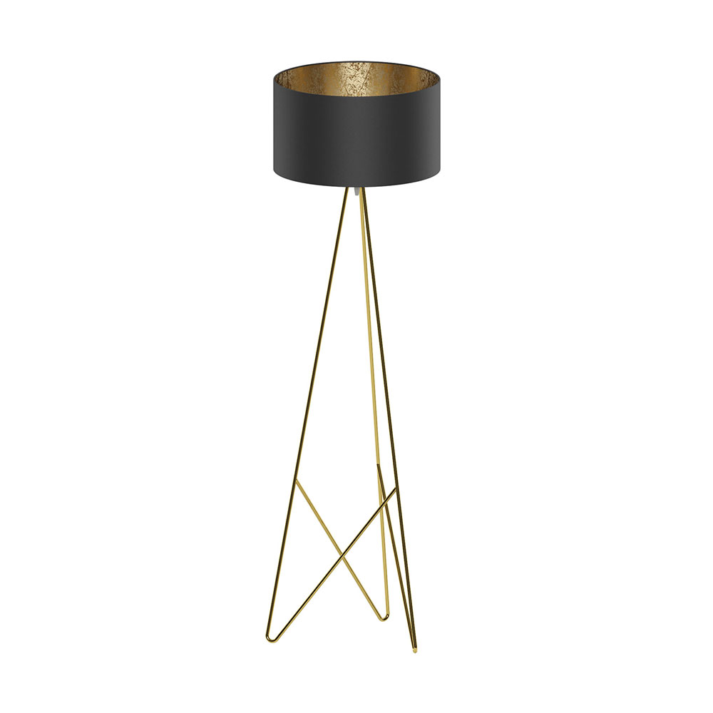 Octavia Floor Lamp Brass: Camporale Floor Lamp Brass