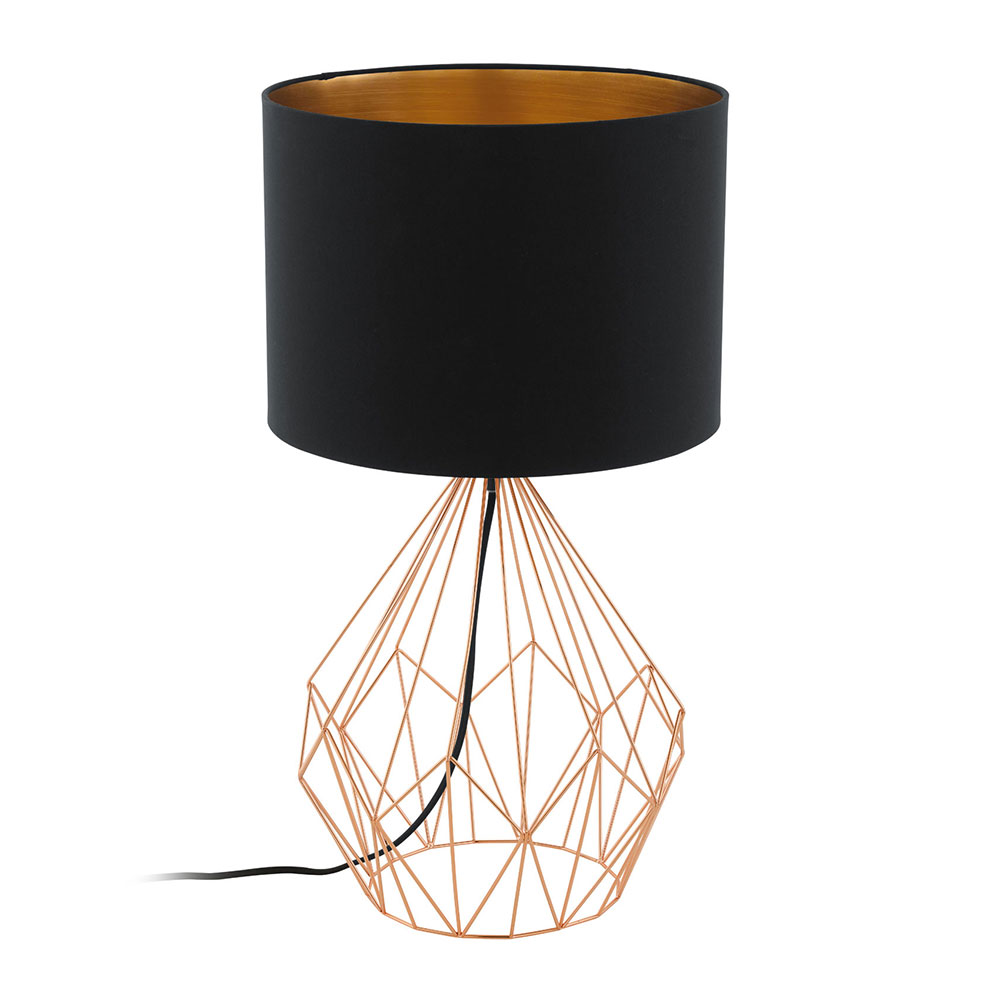 Pedregal 1 table lamp copper 95185 mozeypictures Gallery