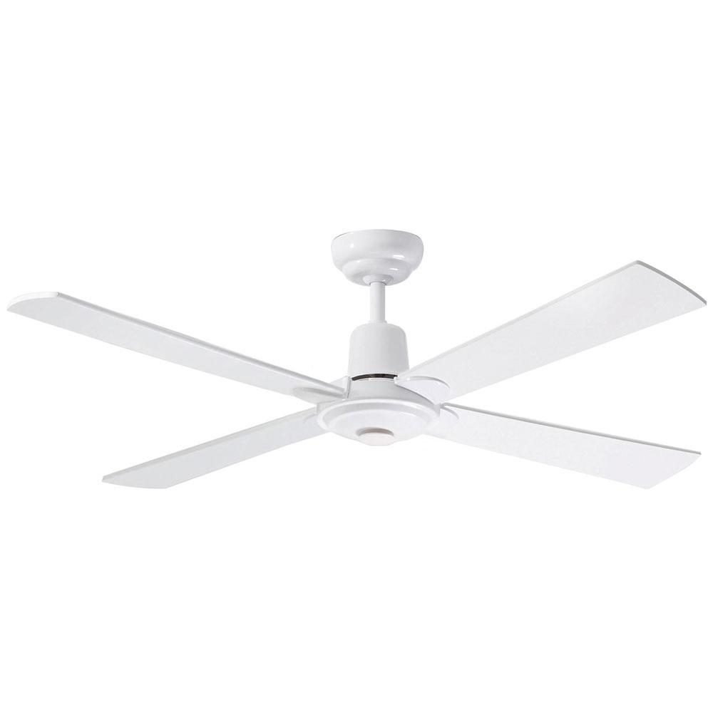 """NEW Martec Alpha 48/"""" White Ceiling Fan CFW124"""