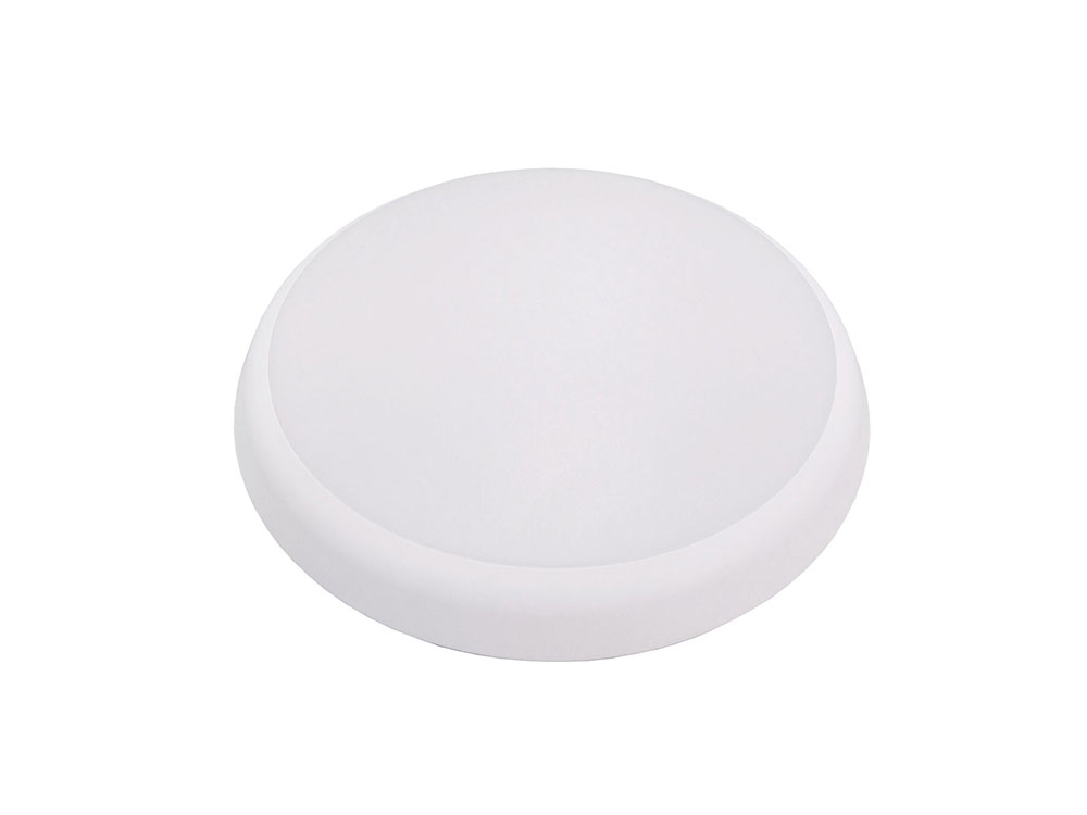Oyster 15w Slimline Dimmable Led Ceiling Light White Frame Tri Colou
