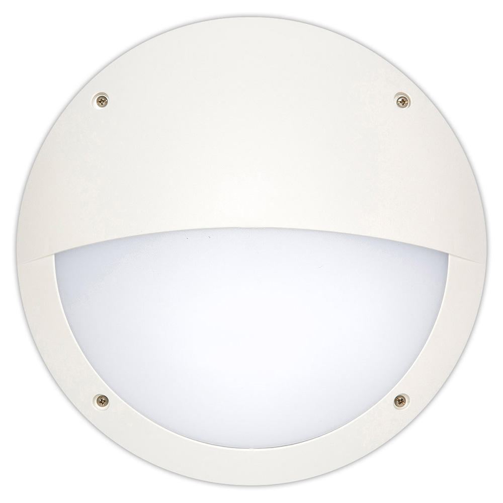 Hardy 12w Led Round Eyelid Bunker Light White Cool White