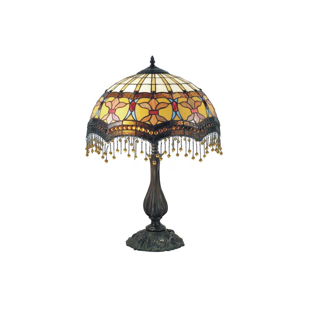 Madonna tiffany beaded table lamp tl 1655gkg aloadofball Choice Image
