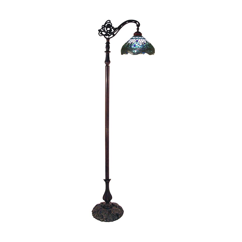 Dragonfly Tiffany Floor Lamp Blue Tl 2793flkg