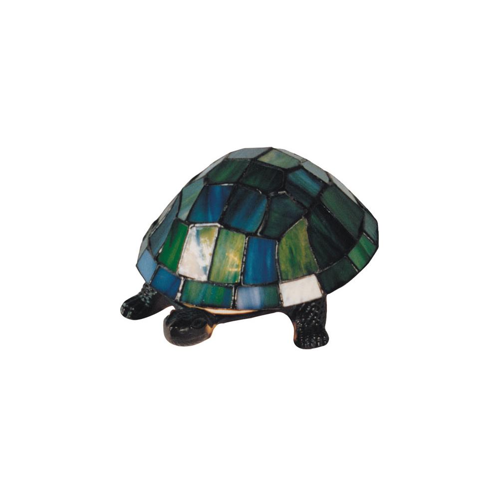 Tiffany turtle table lamp green tl 816tf aloadofball Choice Image