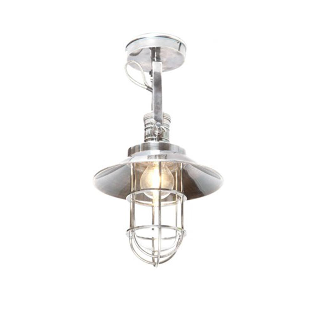 Maine 1 Light Wall Lamp Antique Silver - ELPIM50531AS