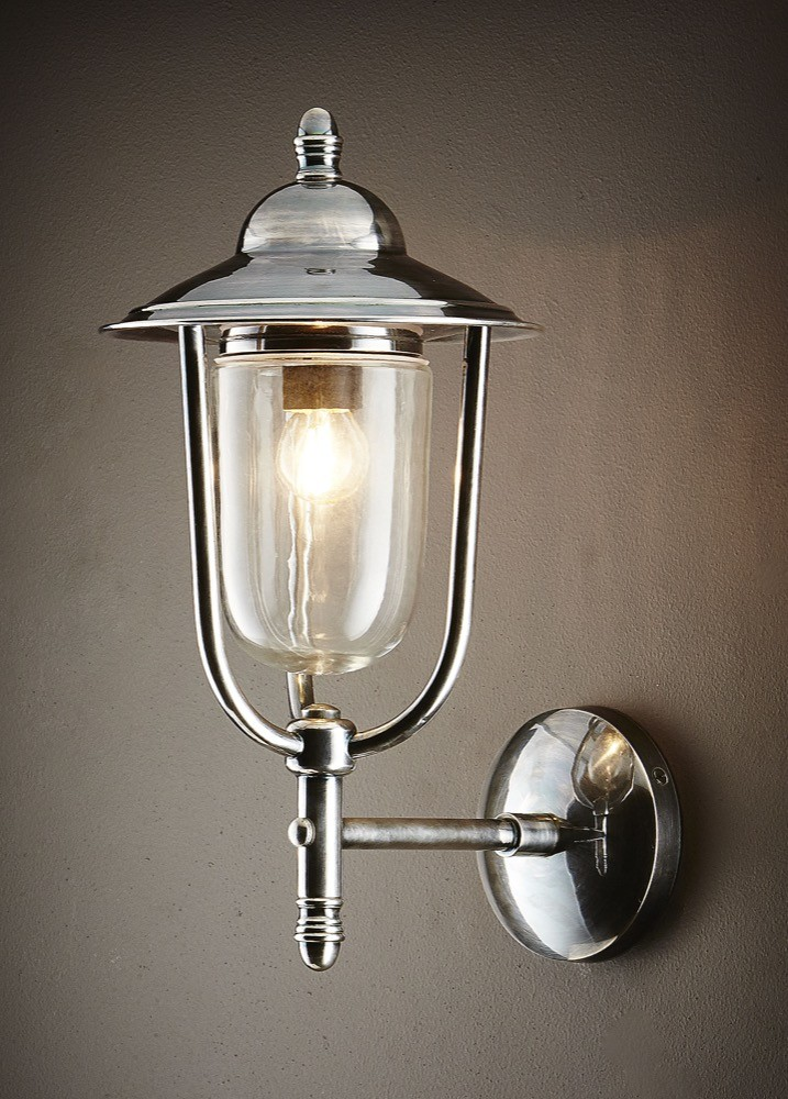 Antique Lamp Globes >> Pier 1 Light Wall Lamp Antique Silver - ELPIM51230AS