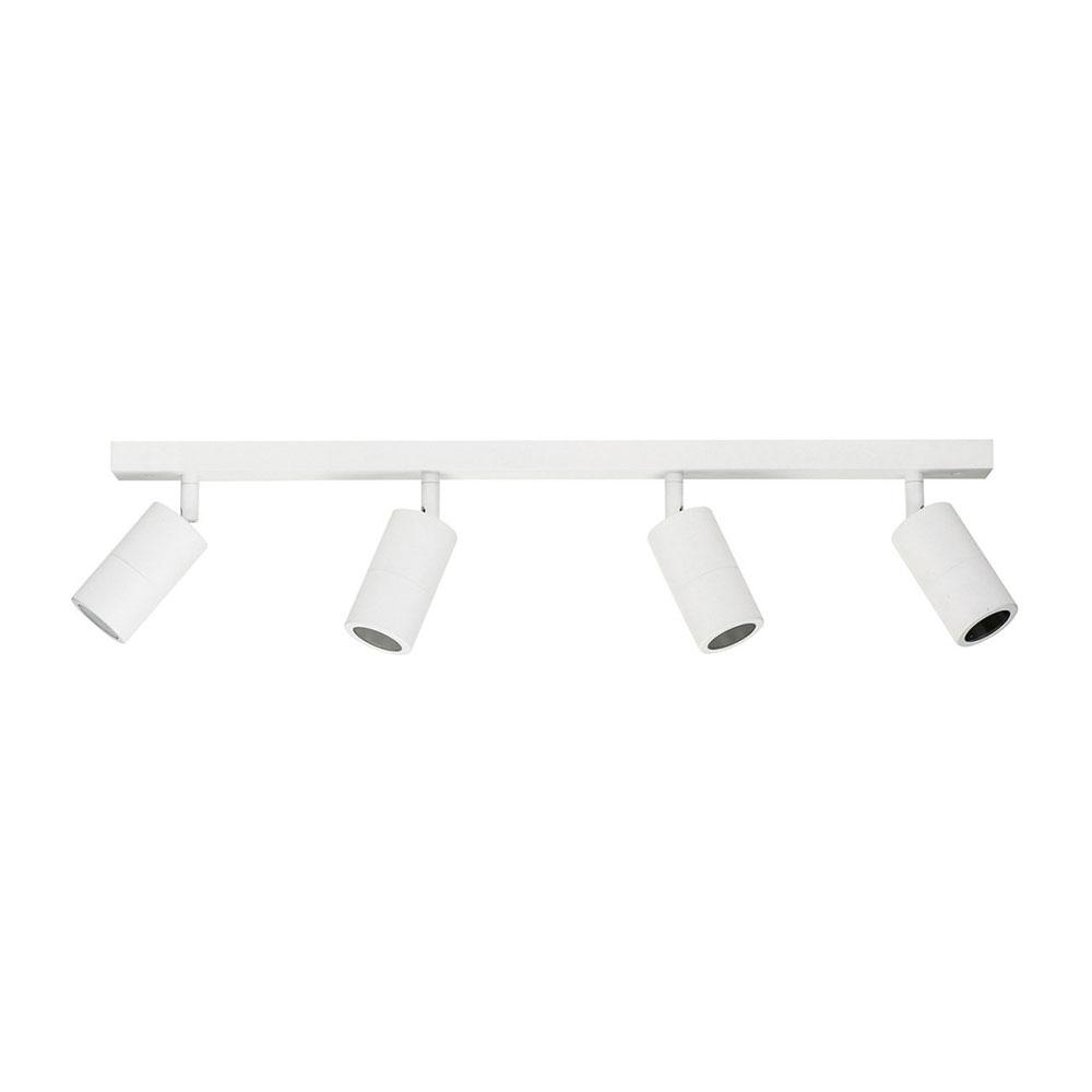 info for 3f4d6 7dbf6 Tivah 4 Light 240V LED Ceiling Spotlight Bar Light Matt White / Cool W