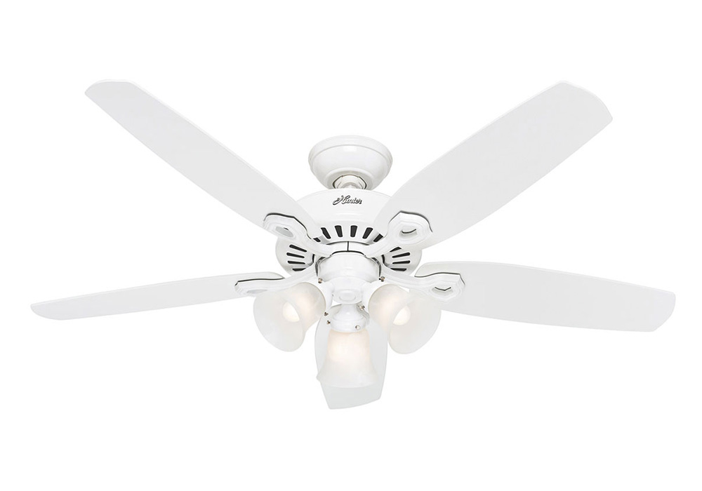 Builder Plus 52 Ac Ceiling Fan White 50560