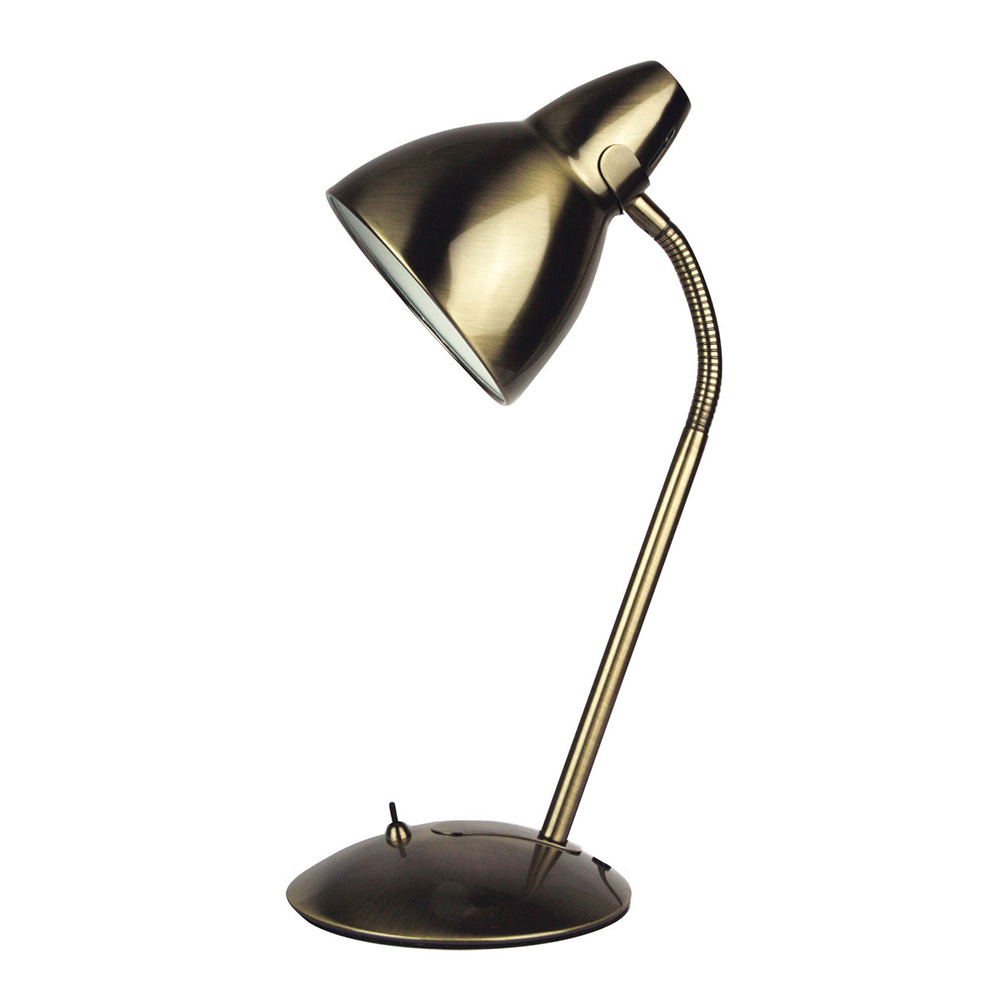 Wondrous Trax Adjustable Metal Desk Lamp Antique Brass Sl98401Ab Download Free Architecture Designs Xaembritishbridgeorg