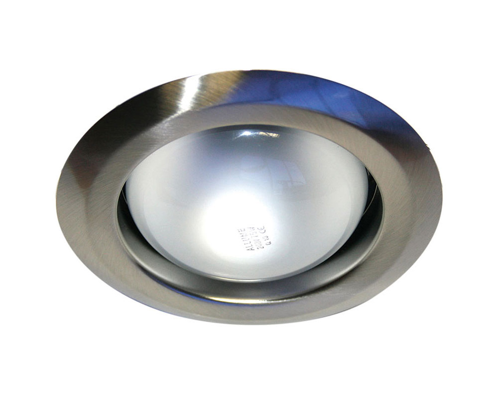 Project recessed downlight brushed chrome lf4325bch