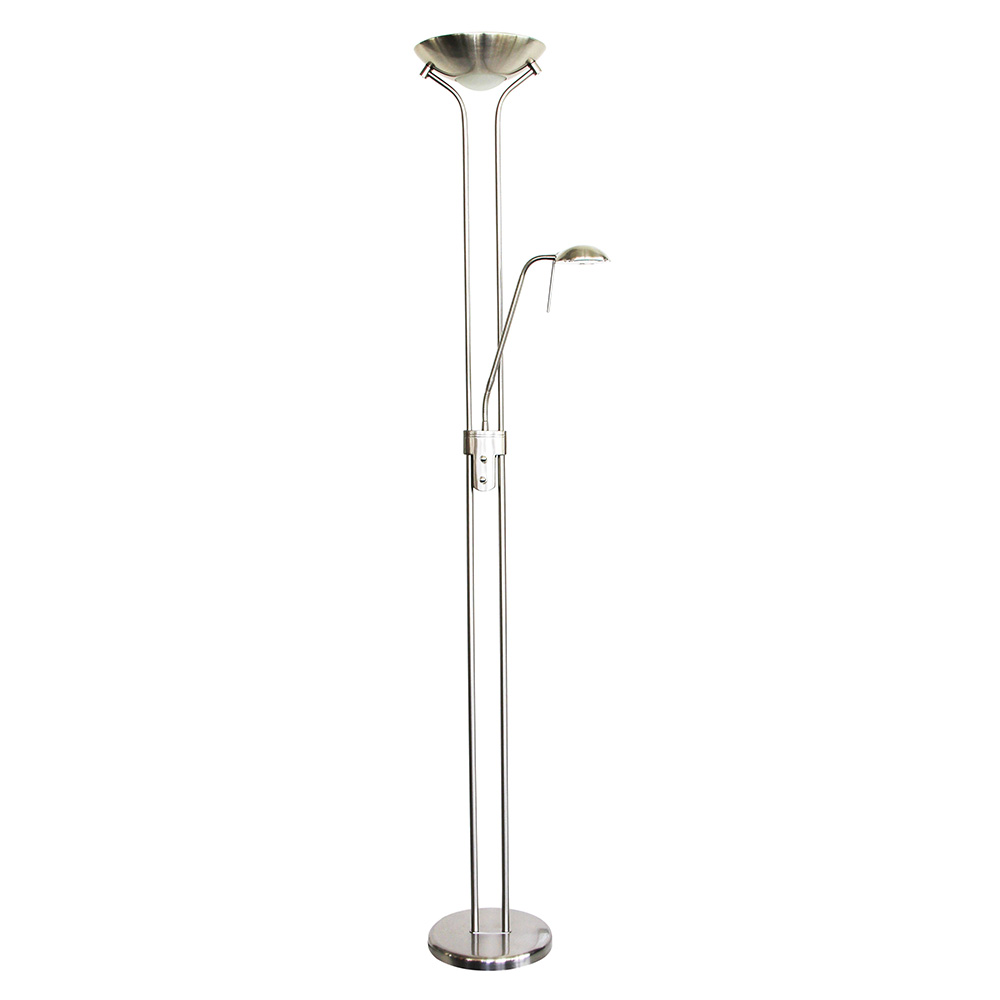 Alena 24 Watt Dimmable Led Mother Amp Child Floor Lamp