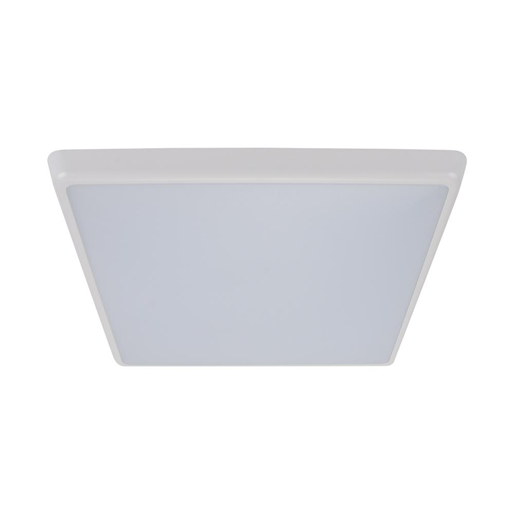 Solar 35 watt slimline dimmable square led ceiling light white white