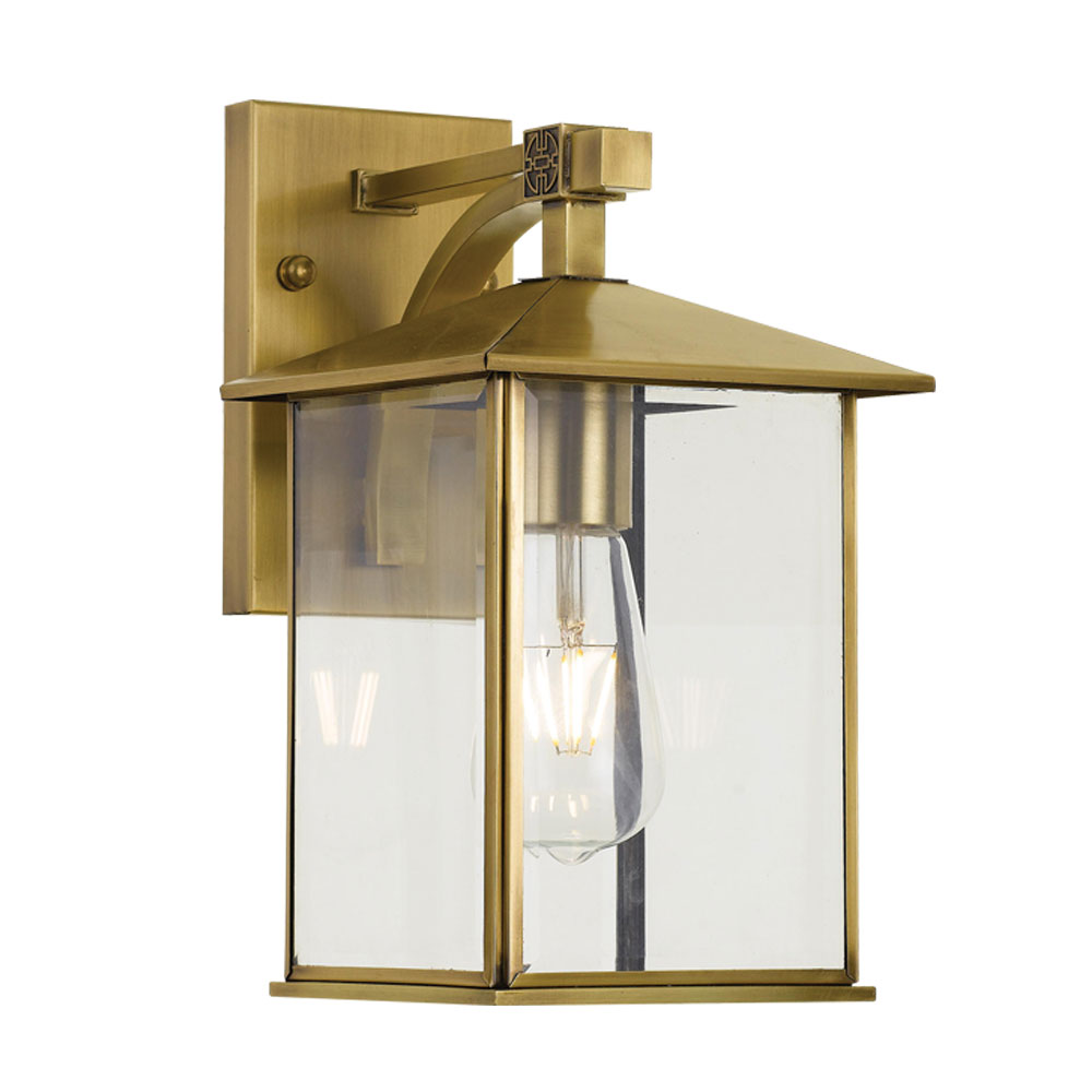 Coby 19 Light Wall Light Large Brass - COBY EX198-BRS