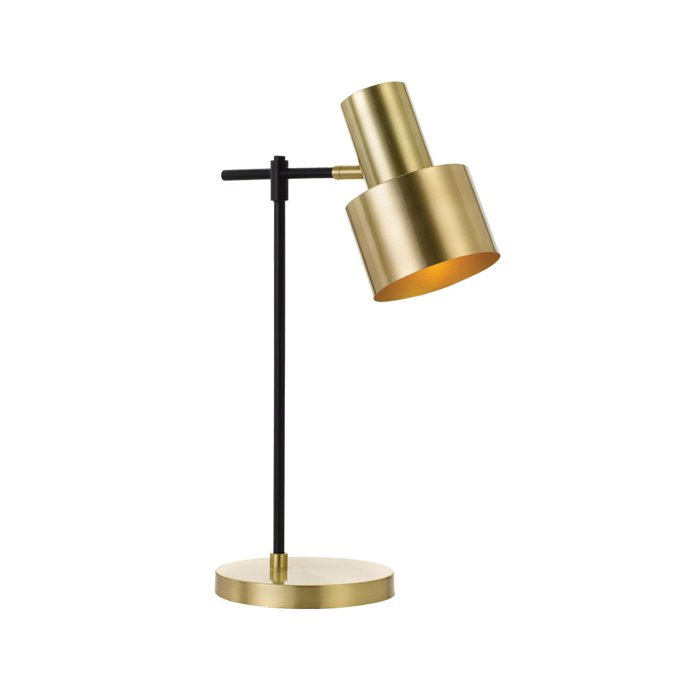 Croset Desk Lamp Gold Black Croset Tl Gd