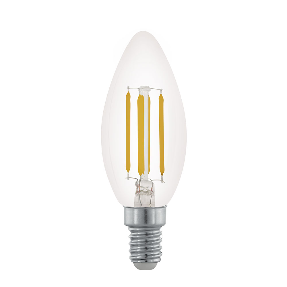 LED ENERGY SAVING DIMMABLE CANDLE SHAPE 3.5W 32W E14 SCREW IN LIGHT BULB
