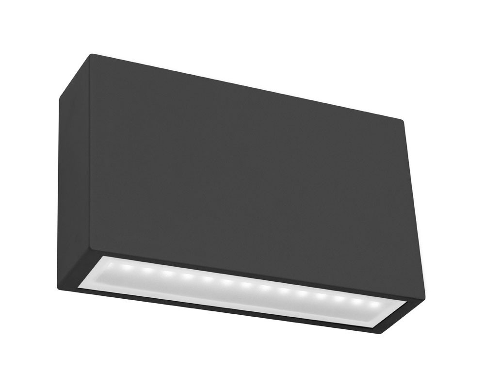 Sturt LED Exterior Light Black - MXD60512BLK