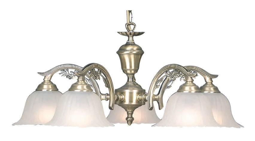 Alva 5 light chandelier antique brass mb8825 online lighting aloadofball Gallery