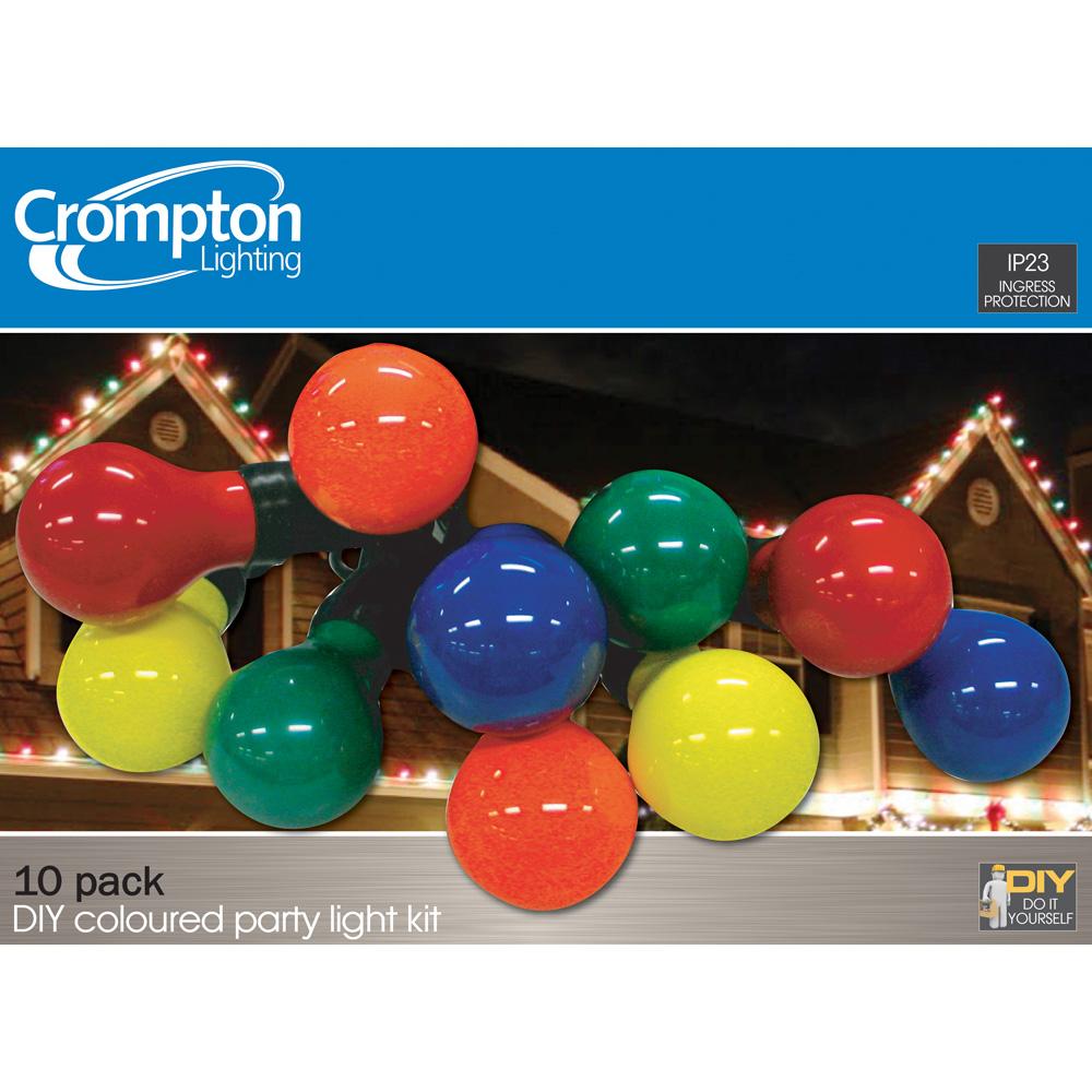 Coloured gls 10 light party light kit online lighting solutioingenieria Images