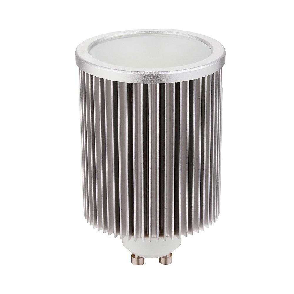 cob high output 10 watt 240v dimmable gu10 led globe warm white hv. Black Bedroom Furniture Sets. Home Design Ideas