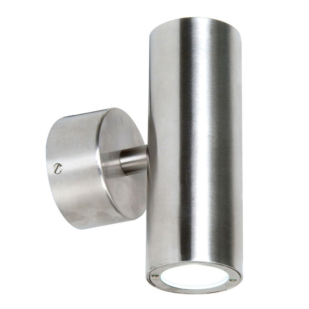 Exterior LED Up/Down Wall Light Stainless Steel Online Lighting